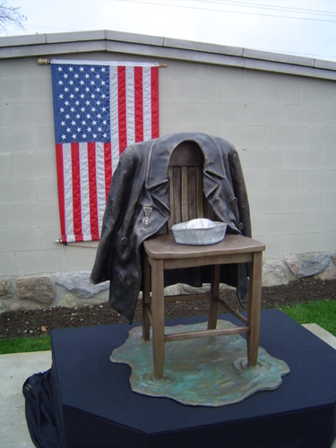 THE NAVY P-COAT MEMORIAL by neil brodin